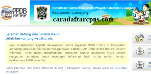 PPDB SMP Kabupaten Lumajang