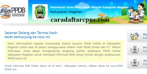 Jadwal PPDB SMA SMK Negeri Kab Magetan 2020 2021