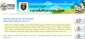 PPDB SMP Kabupaten Ngawi