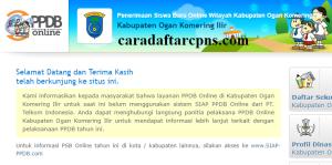 PPDB SMP Kabupaten Ogan Komering Ilir