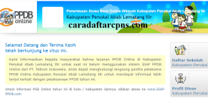 Jadwal PPDB SMA SMK Negeri Kab PALI 2020 2021