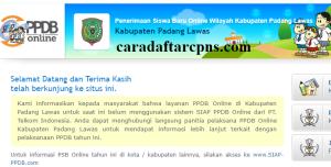 PPDB SMP Kabupaten Padang Lawas