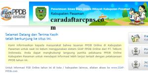 PPDB SMP Kabupaten Pasaman