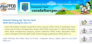 PPDB SMP Kabupaten Paser