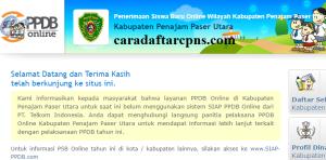Pendaftaran Online PPDB SMP Kabupaten Penajam Paser Utara