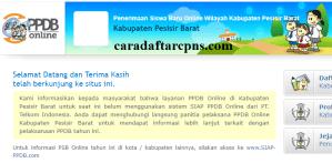 PPDB SMP Kabupaten Pesisir Barat