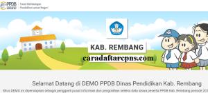 Pengumuman Hasil PPDB SMA SMK Negeri Kabupaten Rembang 2020 2021