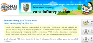 Jadwal PPDB SMA SMK Negeri Kab Sampang 2020 2021