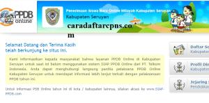 Jadwal PPDB SMA SMK Negeri Kab Seruyan 2020 2021