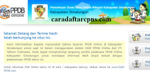PPDB SMP Kabupaten Simalungun