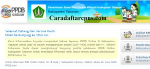 PPDB SMP Kabupaten Tabanan
