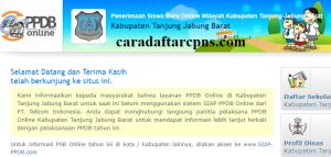 Jadwal PPDB SMA SMK Negeri Kab Tanjung Jabung Barat 2020 2021