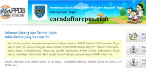 PPDB SMP Kabupaten Tegal