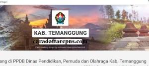 Pengumuman Hasil PPDB SMA SMK Negeri Kabupaten Temanggung 2020 2021