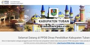 Jadwal PPDB SMA SMK Negeri Kab Tuban 2020 2021