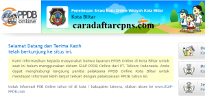 Jadwal PPDB SMA SMK Negeri Kab Blitar 2020 2021