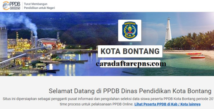Pendaftaran Ppdb Online Sma Kota Bontang 2019 2020 Jadwal Ppdb
