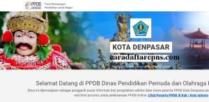 Jadwal Pendaftaran PPDB SMA Kota Denpasar 2020 2021