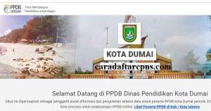 Jadwal Pendaftaran PPDB SMA SMK Negeri Dumai 2020/2021