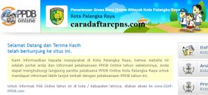 PPDB SMP Kota Palangka Raya