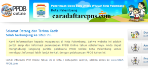 Jadwal Pendaftaran PPDB SMA Kota Palembang 2020 2021