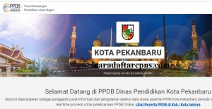 Jadwal Pendaftaran PPDB SMA SMK Negeri Pekanbaru 2020/2021
