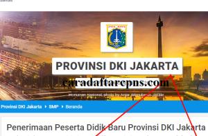 Pengumuman Hasil PPDB SMA SMK Negeri Provinsi DKI Jakarta 2020 2021