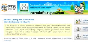 Jadwal dan Syarat PPDB SMP Kabupaten Aceh Timur