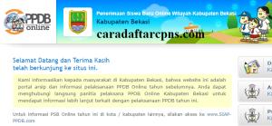 Jadwal PPDB SMP Kabupaten Bekasi