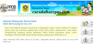 Jadwal dan Syarat Pendaftaran PPDB SMP Kab Bogor 2020 2021