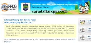 PPDB SMP Kabupaten Ciamis