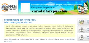 PPDB SMP Kabupaten Pangandaran