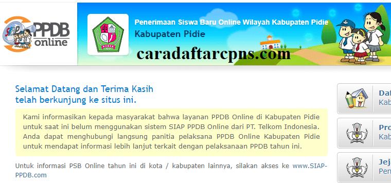 Jadwal Dan Syarat Pendaftaran Ppdb Smp Kabupaten Pidie 2020 2021 Soal Skd Skb
