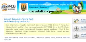 Jadwal Pendaftaran PPDB SMA SMK Negeri Kab Sukabumi 2020/2021