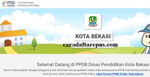 Jadwal Pendaftaran PPDB SMA Kota Bekasi 2020 2021