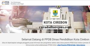 Jadwal Pendaftaran PPDB SMA Kota Cirebon 2020 2021