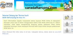 Pendaftaran Online PPDB SMP Kabupaten Bulungan