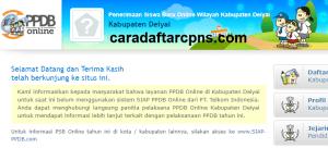 PPDB SMP Kabupaten Deiyai
