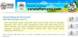 Jadwal PPDB SMA SMK Negeri Kab Jayawijaya 2020 2021