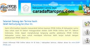 Jadwal PPDB SMA SMK Negeri Kab Lanny Jaya 2020 2021