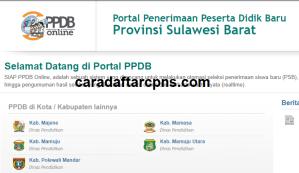 PPDB SMP Kabupaten Mamuju Tengah