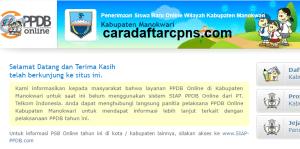 Jadwal PPDB SMA SMK Negeri Kab Manokwari 2020 2021
