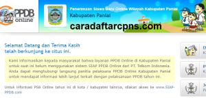 Jadwal PPDB SMA SMK Negeri Kab Paniai 2020 2021
