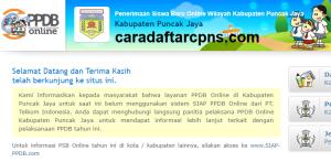 PPDB SMP Kabupaten Puncak Jaya