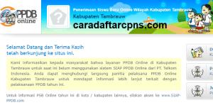 PPDB SMP Kabupaten Tambrauw