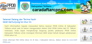 PPDB SMP Kabupaten Tolikara