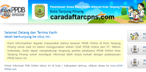 PPDB SMP Kota Tanjungpinang