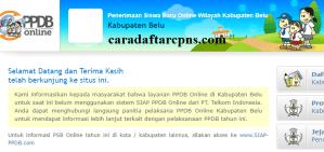 PPDB SMP Kabupaten Belu
