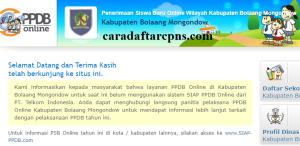 PPDB SMP Kabupaten Bolaang Mongondow