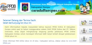 Jadwal PPDB SMA SMK Negeri Kab Dompu 2020 2021